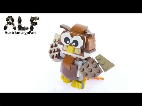 lego owl tutorial full download lego creator set park animals part 2 owl