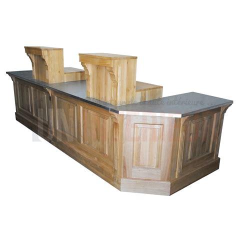 meuble comptoir caisse comptoir caisse sur mesure en pin massif