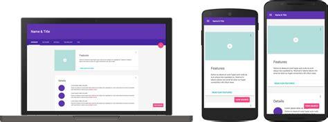 google material design layout templates novo framework do google leva material design para p 225 ginas