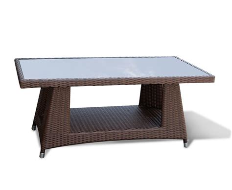 wicker coffee tables riviera all weather wicker 4ft coffee table
