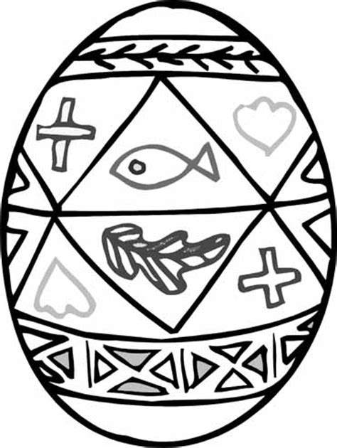easter egg coloring pages christian easter colouring easter egg decorated colouring page