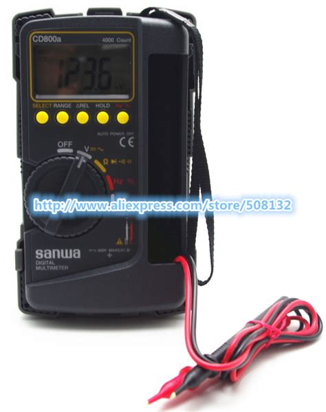 Limited Digital Multimeter Sanwa Cd800a compare prices on sanwa multimeter shopping buy low price sanwa multimeter at factory