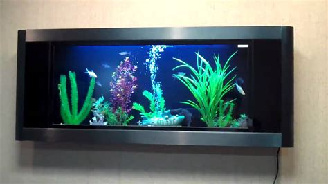 aquavista panoramic wall aquarium fish tank aquariums at aquavista panoramic wall mounted aquariums youtube