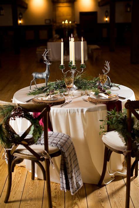 rustic winter wedding decor inspiration tidewater