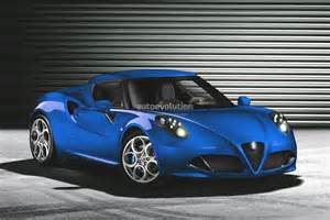 Blue Alfa Romeo Alfa Romeo 4c Looks In Blue Autoevolution