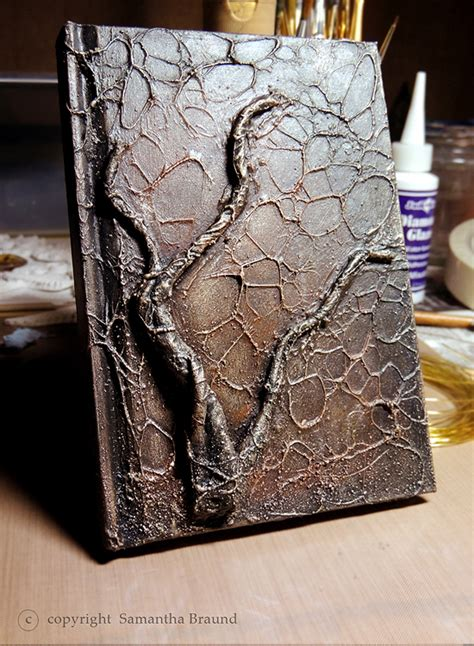 Handmade Book Cover Ideas - this time i used some inexpensive craft brass wire