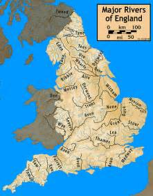 Great Rivers Of The World Map by List Of Rivers Of England Wikipedia