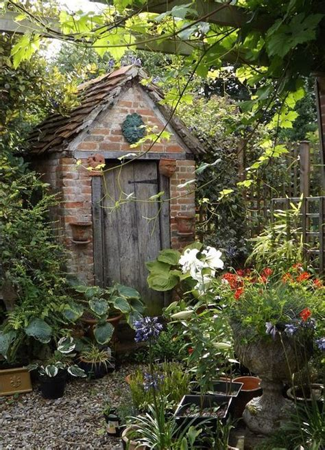 1000 ideas about cottage garden sheds on