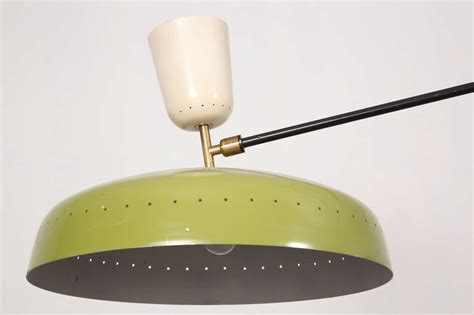swing arm ceiling light pierre guariche swing arm ceiling fixture at 1stdibs