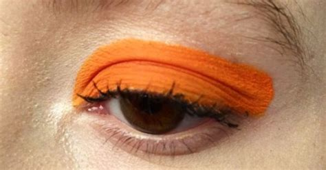how to make up for a photo 76 years old perfect eye make up for being a pumpkin make up