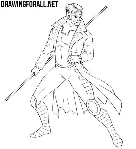 how to use gambit how to draw gambit drawingforall net