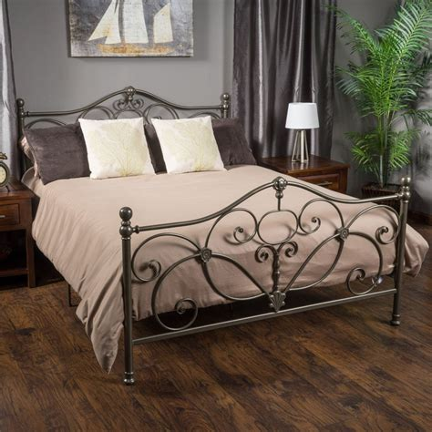 iron bed frames king style iron bed frames king suntzu king bed iron bed
