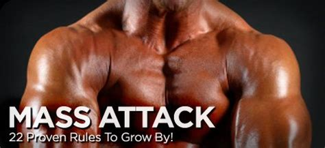 bodybuilding mass gain programs articles mass attack 22 proven rules to grow by bodybuilding com