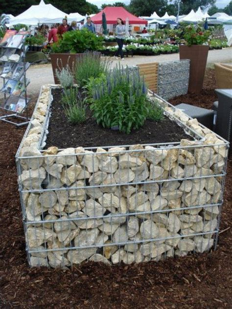 30 Raised Garden Bed Ideas Hative Rocks For Garden Beds