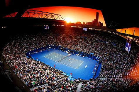 Green Dining Rooms by Australian Open Completes Lavazza Grand Slam