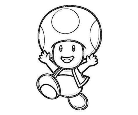 Mario Toad Coloring Pages Getcoloringpages Com Toad Mario Coloring Pages