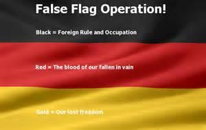 colors of the german flag german false flag justice for germans