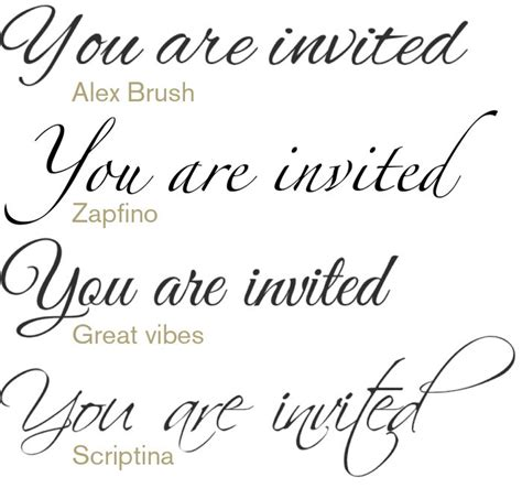 Wedding Font In by Wedding Fonts Www Imgkid The Image Kid Has It