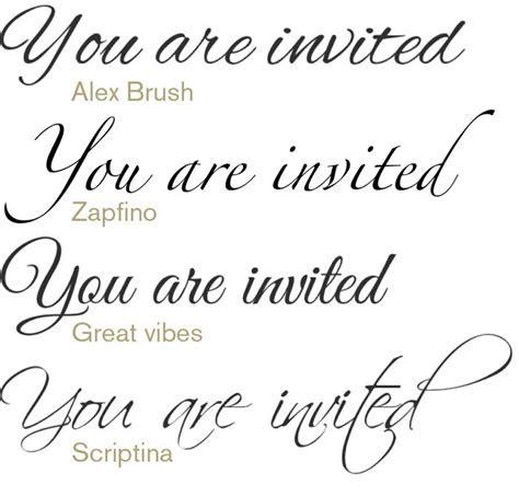 12 Wedding Text Font Images   Wedding Script Fonts, Free
