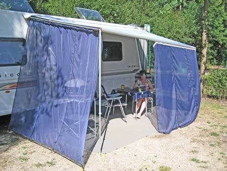 rv awning side panels wind blockers turn your wind out canopy into an awning