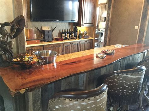 How To Make A Wood Bar Top Custom Wood Bar Top Counter Tops Island Tops Butcher