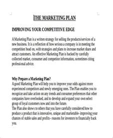 marketing caign report template 11 sle marketing report free sle exle format