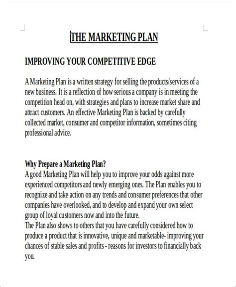 marketing mix report sle strategy report template 28 images sle2 report
