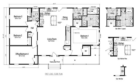 palm harbor modular home floor plans view the greenbrier iii floor plan for a 2141 sq ft palm