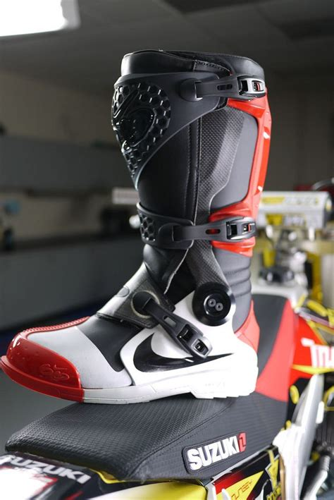 dirt bike boots for sale james bubba stewarts nike arimx 6 0 boot man there is