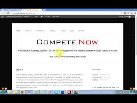 wordpress tutorial in urdu youtube adding a tabbed widget in wordpress tutorial youtube