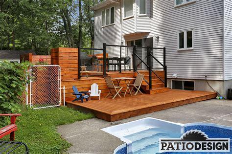 le patio nation conception fabrication et installation de patio autour d