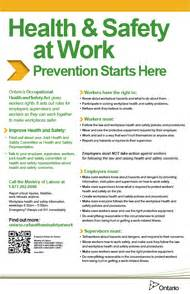 Health amp safety at work prevention starts here ontario ministry of