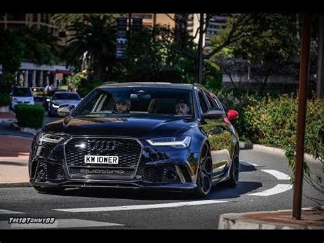 Audi Rs6 Pp Performance by Pp Performance Audi Rs6 W Akrapovic Exhaust Vs Audi Rs6 W