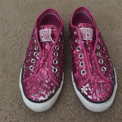 83 converse shoes sequin converse tennis shoes from