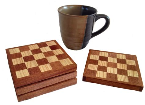 drink coaster drink coasters elegant mahogany and ash coffee coasters