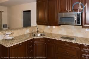 backsplash with venetian gold granite venetian gold granite tumbled stones and backsplash