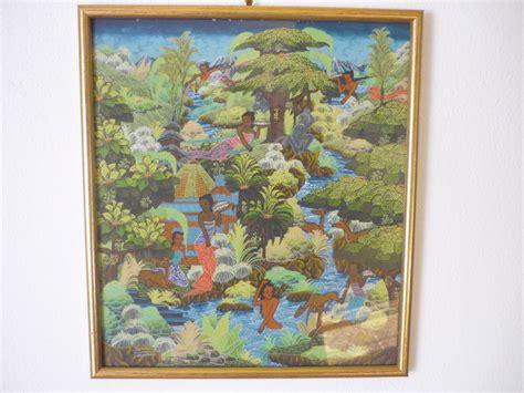 acrylic paint jakarta acrylic painting on canvas by the artist j w sania bali