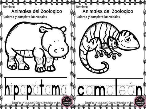 imagenes de animales del zoologico para preescolar actividades animales de zoologico 9 imagenes educativas