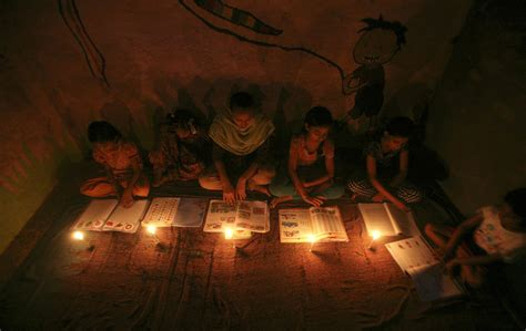 electrical shortage in house from a powerless india 600 million get by without