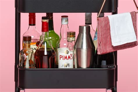 project ikea hack bar cart ish life style 365 ikea bar cart projects and hacks apartment therapy