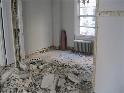 Yorkville New York Interior Apartment Demolition