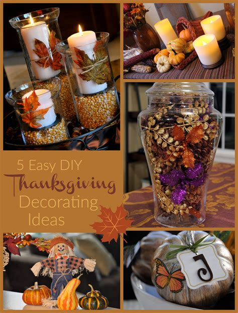 how to decorate your home for thanksgiving easy thanksgiving decorating ideas