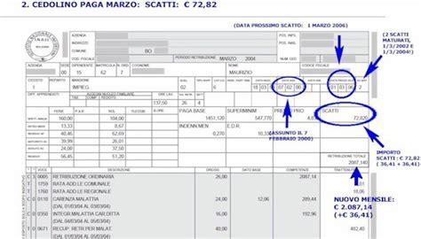 retribuzione assistente alla poltrona busta paga come funzionano gli scatti di anzianit 224