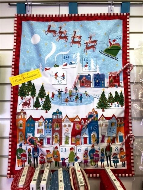advent calendar kit broadbent s quilting advent calendar kits