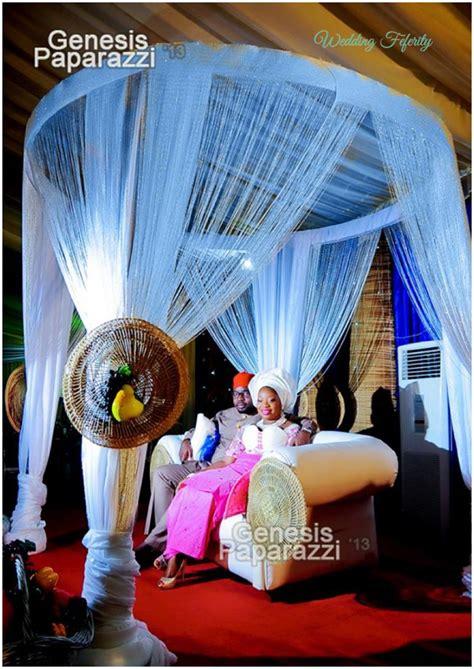 Ceiling Draping Fabric Nigerian Wedding Decor Traditional And White Wedding Ideas