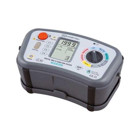 Sale Tester Kyoritsu Multi Function Testers Model 6018 kyoritsu 6016 10 in 1 multifunction tester portable