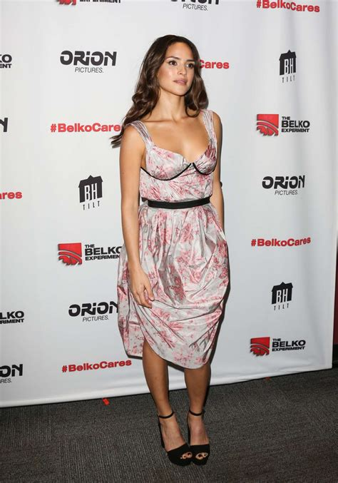 adria arjona belko experiment adria arjona the belko experiment screening 15 gotceleb