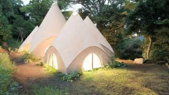 tent houses retirement gnome homes aging in luxurious modern wooden tents