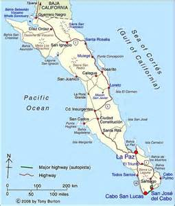 Map Of Baja California Mexico by Clickable Interactive Map Of Baja California Sur State