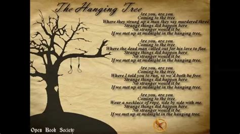 the hanging tree hunger games mockingjay pt 1 with